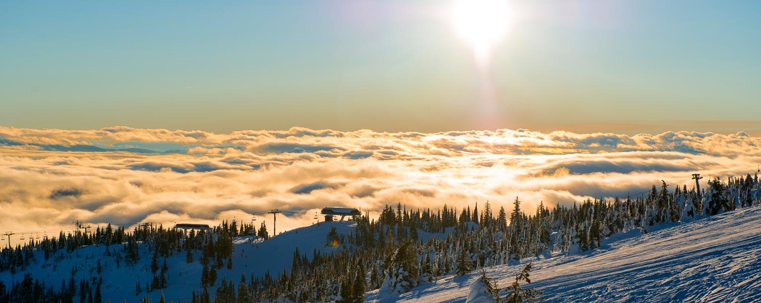 Big-White-Ski-Resort-Sun-Set