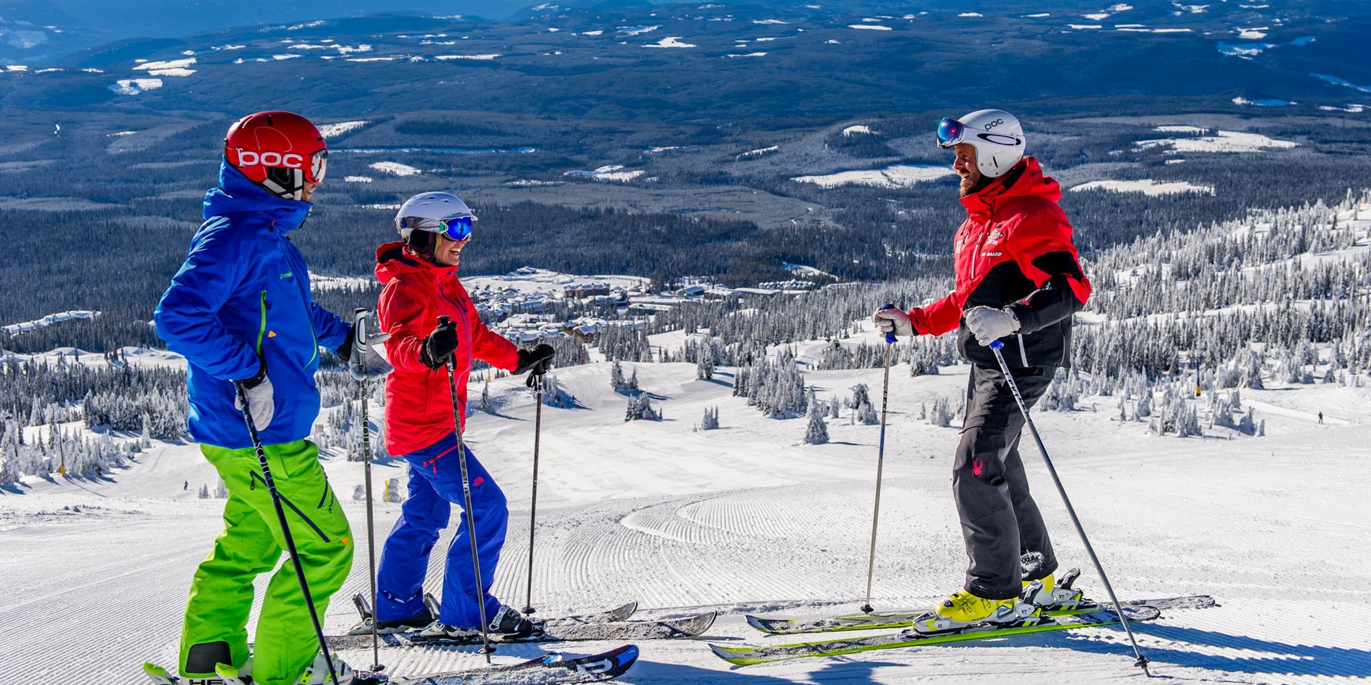 NothinButSnow Ski Instructor Lesson Big White