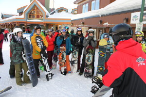 NothinButSnow snowboard students