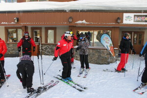 NothinButSnow skiers Big White ski resort