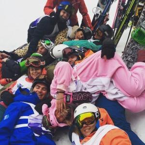NothinButSnow Ski instructor course student
