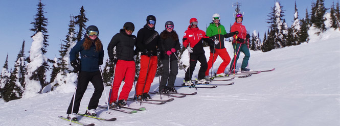 Week 5 ski and snowboardinstructor course diary picture