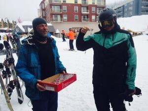 Ski student Big White NothinButSnow
