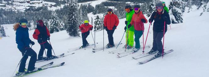 NothinButSnow ski courses
